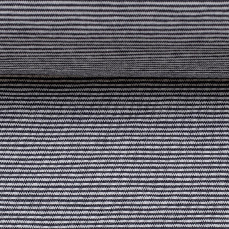 BELLA Ringeljersey nachtblau weiß 1