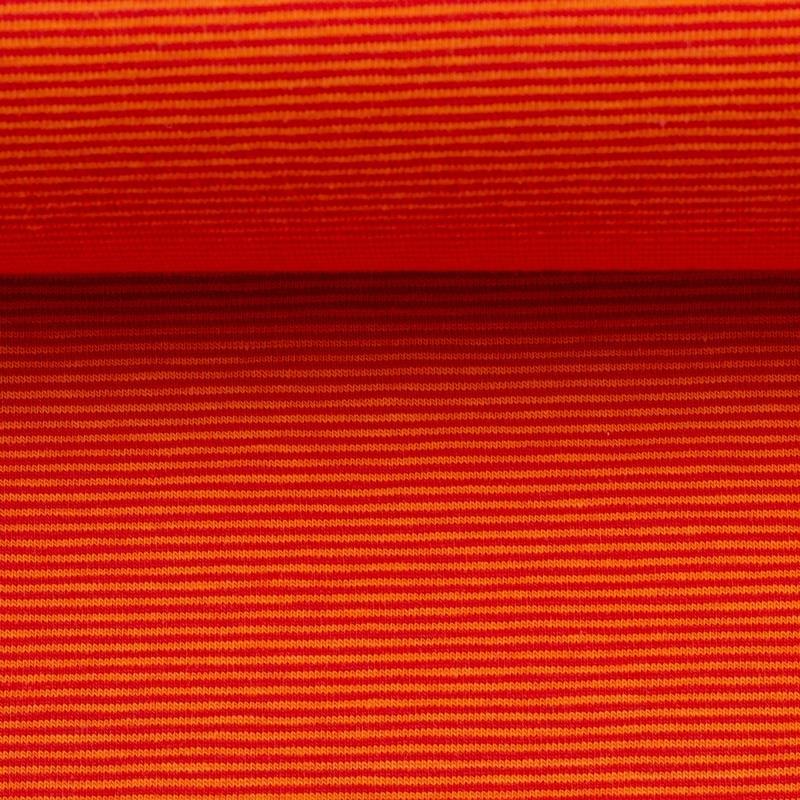 BELLA Ringeljersey orange rot 1