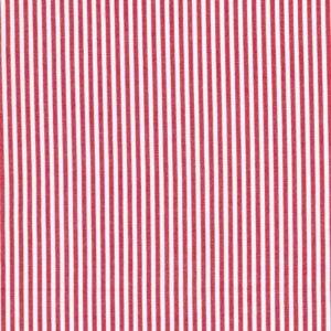 Baumwolle-CARAVELLE-Streifen-rot-weiss