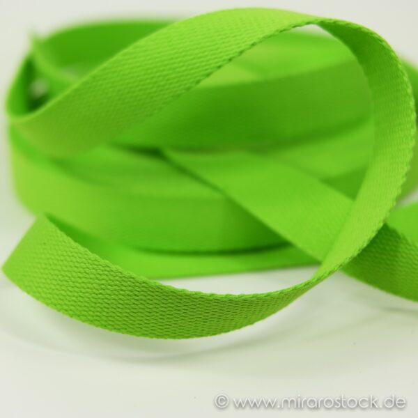 Gurtband Baumwolle apfelgrün