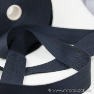 Gurtband Baumwolle schwarz