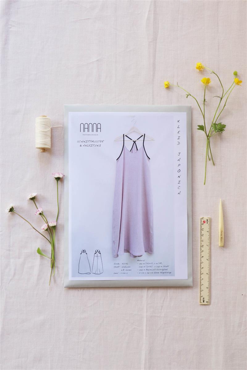 Kleid-Japonica-Schnittmuster-Front