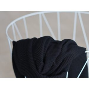 MINDTHEMAK-Strick-SELF-STRIPE-OTTOMAN-KNIT-black_270186