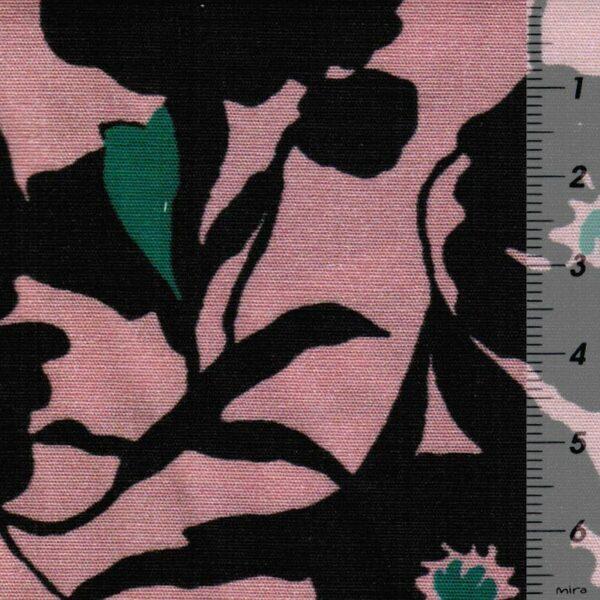 OLD-PINK-FLOWER-Baumwoll-Stretch-Blueten-altrosa-schwarz-6