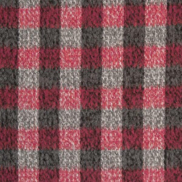 SWAFING-Strick-BIANCA-Wollstoff-Karo-pink-grau_258667