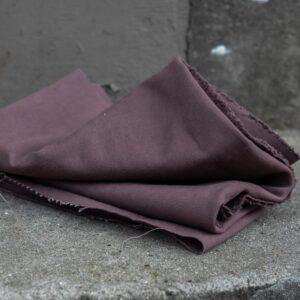 HEAVY WASHED CANVAS 17 oz grape