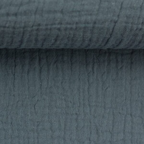 JENKE Musselin jeansblau
