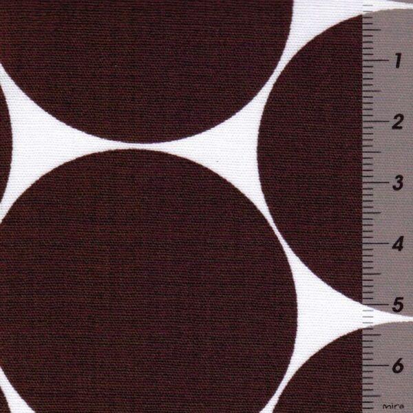 DORO-Popeline-Dots-bordeau-weissZoom