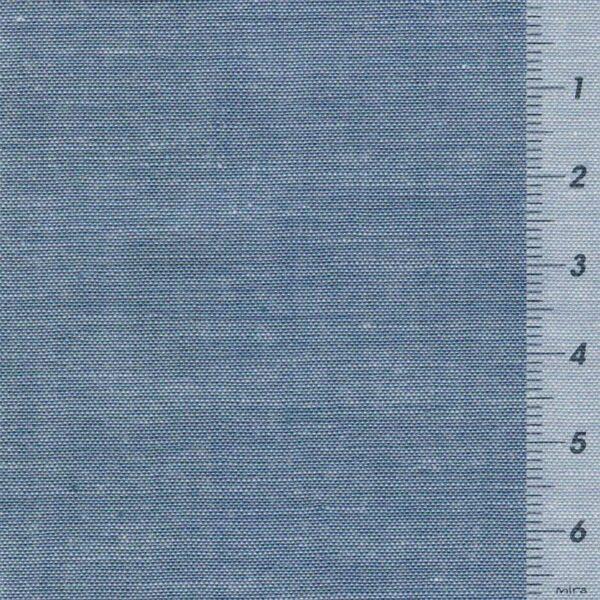 IDA-UNI-Chambray-Webware-blau-meliert-3