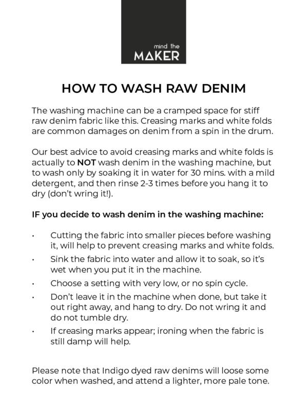 washing-advice
